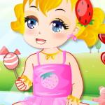 Одевалка малышки для девочек