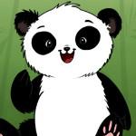 Одевалка панды