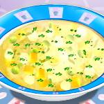 Куриный суп: готовим с Сарой