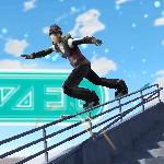 Трюки на сноуборде 3D