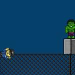 Полицейские против суперменов