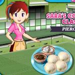 Готовим вареники с Сарой