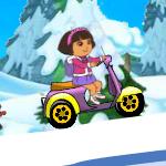 Зимние гонки с Дашей