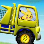 Пикачу на грузовике