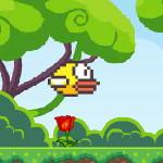 Flappy Bird в лесу