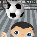 Удержи мяч в воздухе