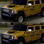 Найди отличия в такси Хаммер
