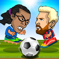 Футбол головами на двоих