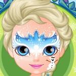 Барби украшает лицо
