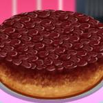 Торт-перевертыш с Сарой