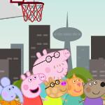 Баскетбол со свинкой Пеппой