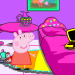 Спальня Свинки Пеппы