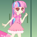 Одеваем девушку в розовое