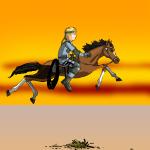 Скачки по пустыне