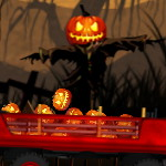 Хэллоуинский трактор