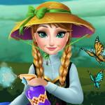 Анна выращивает цветы