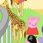 Свинка Пеппа в зоопарке