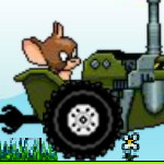 Джерри на тракторе