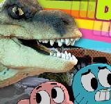 Гамбол против Динозавра