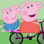 Пеппа на велосипеде