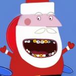 Свинка Пеппа Уход за зубами Деда Мороза