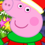 Украшение новогоднего дерева с Пеппой