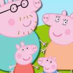 Свинка Пеппа скрытые числа
