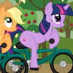 Пони на велосипедах