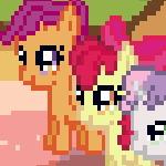 Пиксельные Лошадки