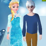Эльза и Джек на модном шоу