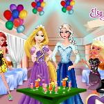Коктйльная вечеринка у Эльзы и Анны