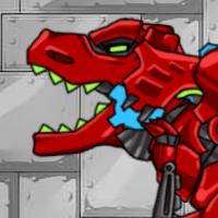 Красный тиранозавр