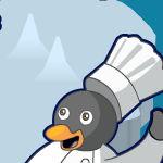 Пингвины готовят обед