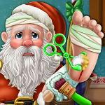Санта в больничной койке