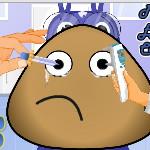 Поу у глазного врача