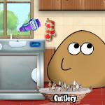Помой посуду с Поу