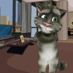 Говорящий Кот Том Комнатные декорации