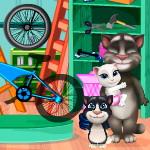 Говорящий Том и семья Сборка велосипеда