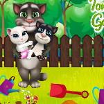 Кот Том Семейное садовничество