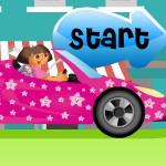 Даша Автомобильная гонка