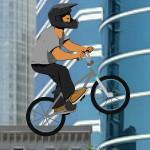 Профессиональные трюки на велосипеде