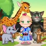 Малышка Роузи и Том идут в зоопарк
