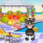 Малыш Том вечеринка в бассейне
