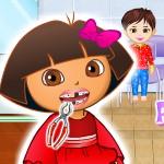 Даша у зубного врача