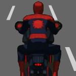 Мотоциклист супер герой