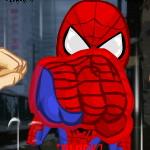 Спарринг человека-паука
