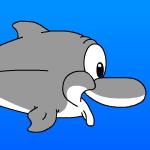 Накорми дельфина