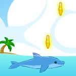 Дельфин собирает звезды