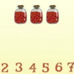 Лунтик изучает числа