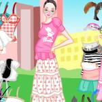 Показ мод: Коллекция для беременных